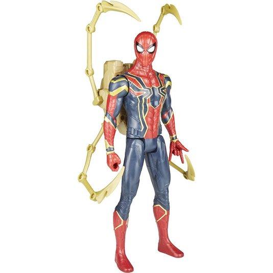 Boneco Avengers Power Pack Homem Aranha Guerra Infinita Hasbro