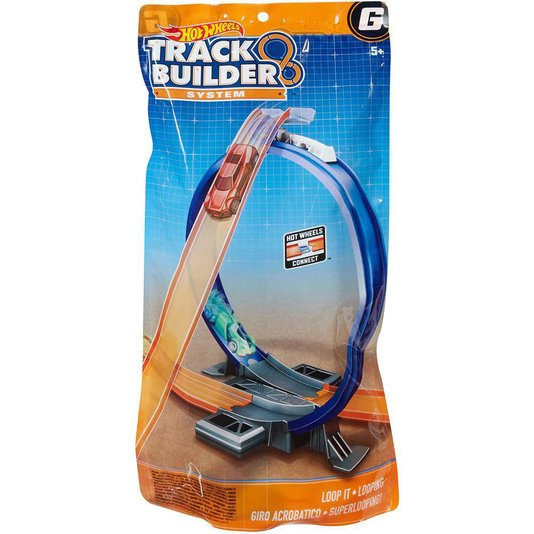 Acessórios de Pista Hot Wheels Track Builder Curva Mattel