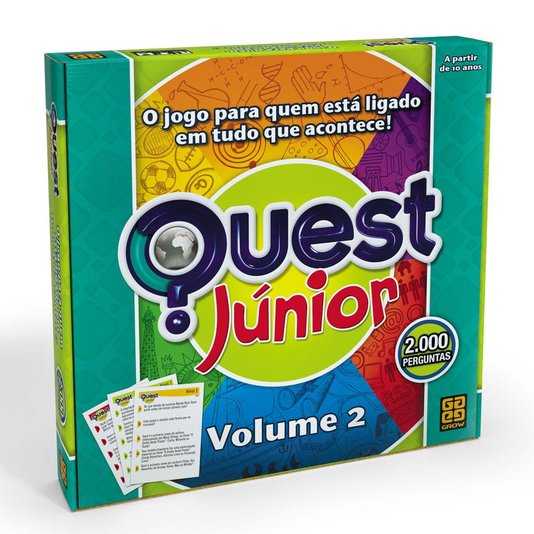 Jogo Quest Júnior Vol. 2 Grow