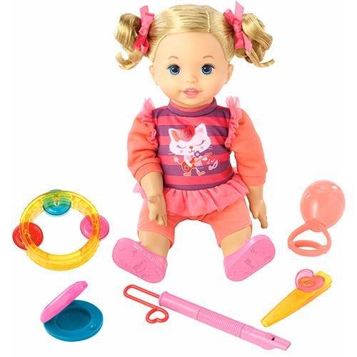 Boneca Little Mommy Minha Primeira Aula de Música Mattel