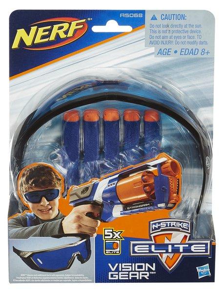 Conjunto N-Strike Elite Vision Gear Mattel