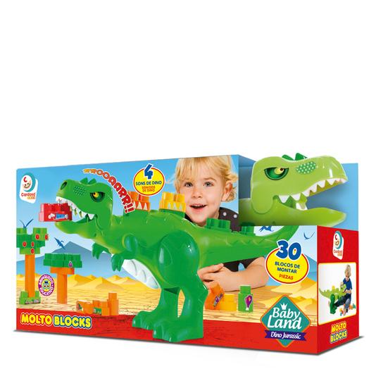 Baby Jurassico 30 Blocos Cardoso