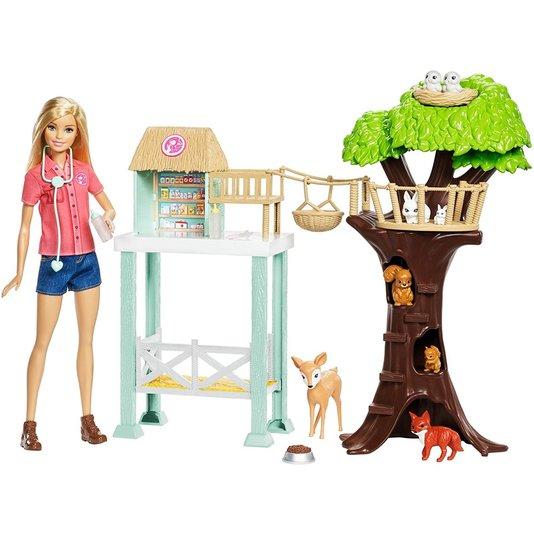 Barbie Cuidadora de Bichinhos Mattel