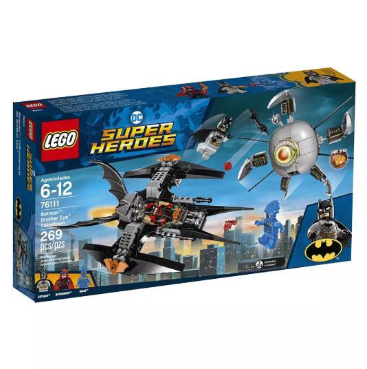 Batman a Derrubada do Irmão Olho Lego