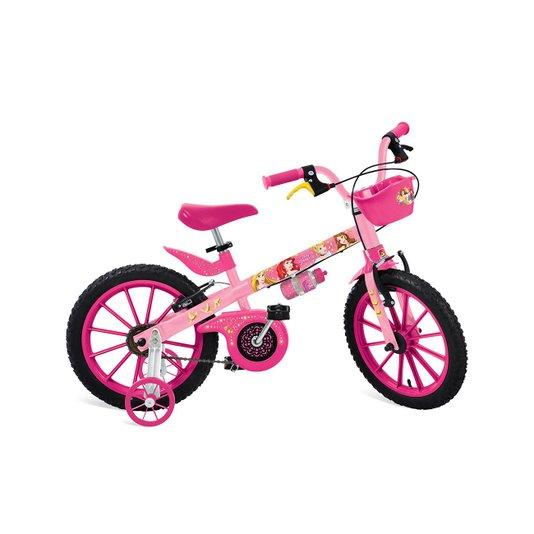 Bicicleta Princesas Disney Aro 16 Bandeirante