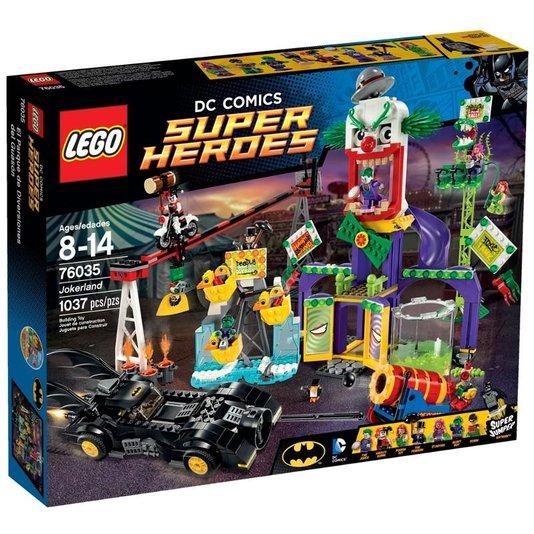 Super Heroes A Terra do Coringa Lego