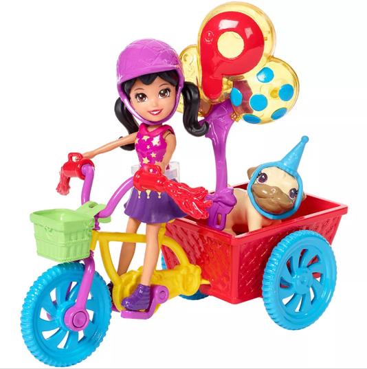 Bicleta Aventura Pet Polly Pocket Mattel