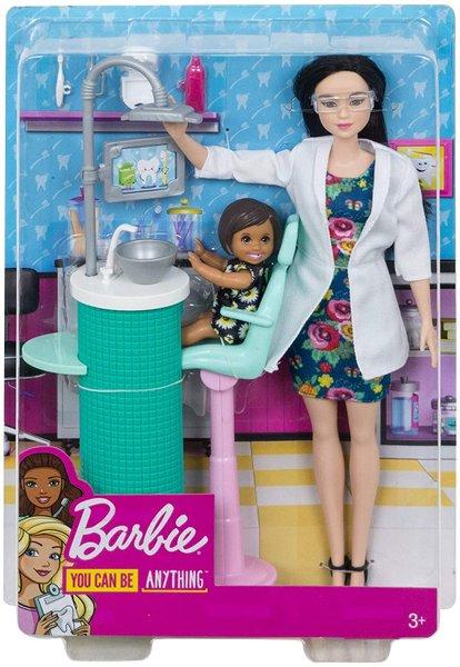 Boneca Barbie Dentista Morena Mattel