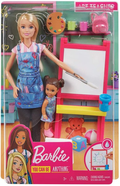 Boneca Barbie Professora de Arte Mattel