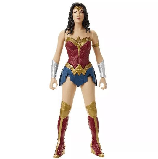 Boneca Gigante Mulher Maravilha Liga da Justiça Mimo