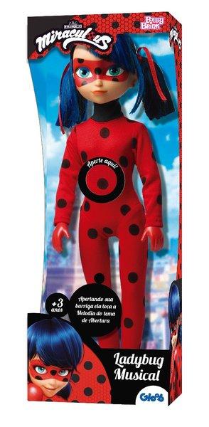 Boneca Miraculous Ladybug Musical Rosita