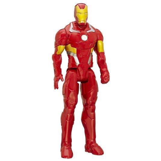 Boneco Titan Hero Series Marvel Homem de Ferro Hasbro