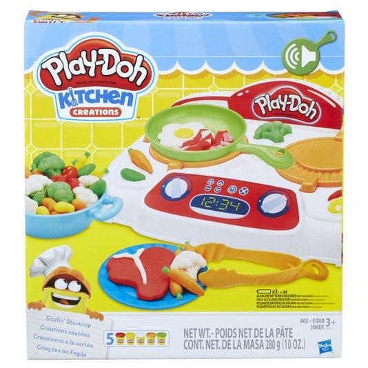 Conjunto Play-Doh Criações No Fogão Hasbro