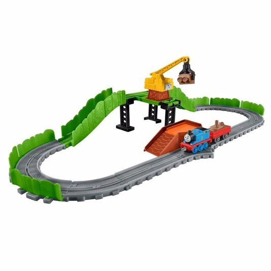 Carga e Descara Thomas & Friends Reg e o Ferro Velho Fisher-Price