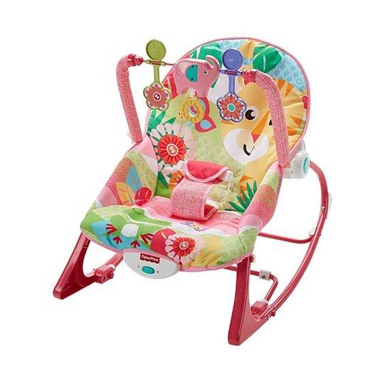 Cadeirinha de Balanço Minha Infância Tigre Fisher-Price Mattel