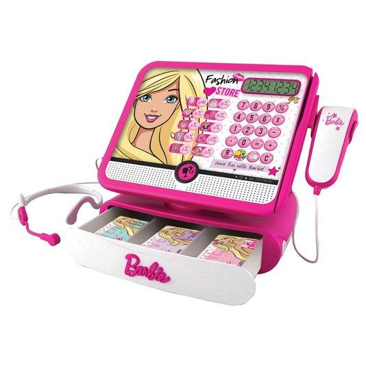 Caixa Registradora Fashion Store da Barbie Intek Fun