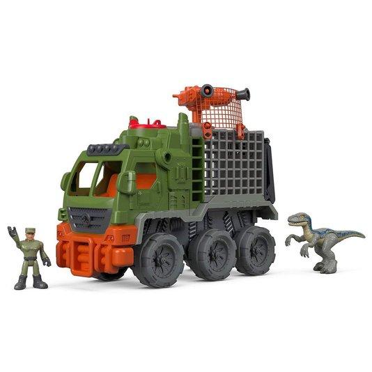 Caminhão Dinossauro Imaginext Jurassic World Mattel