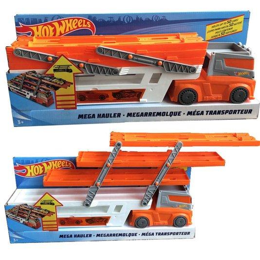 Caminhão Hot Wheels Mega Hauler Mattel