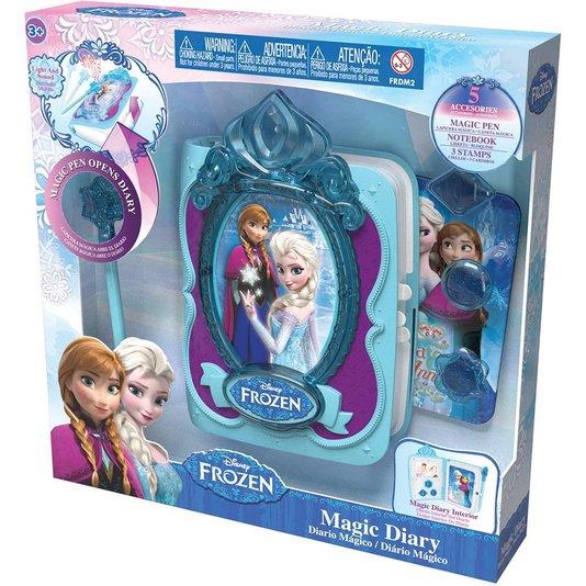 Diário Mágico Frozen Intek