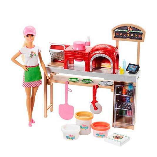 Conjunto Barbie Pizzaiola Mattel