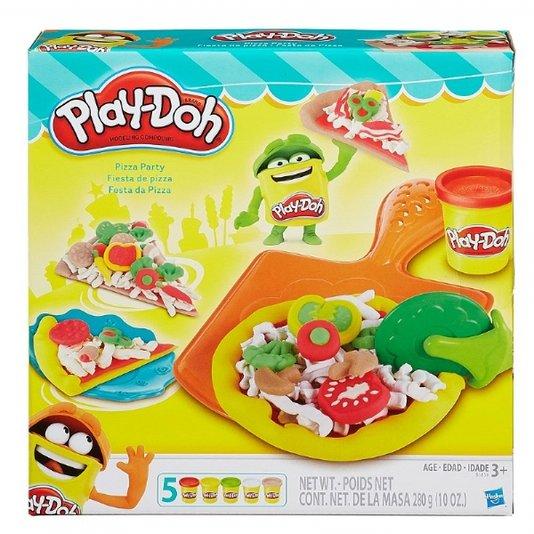 Conjunto Play-Doh Festa Da Pizza Hasbro