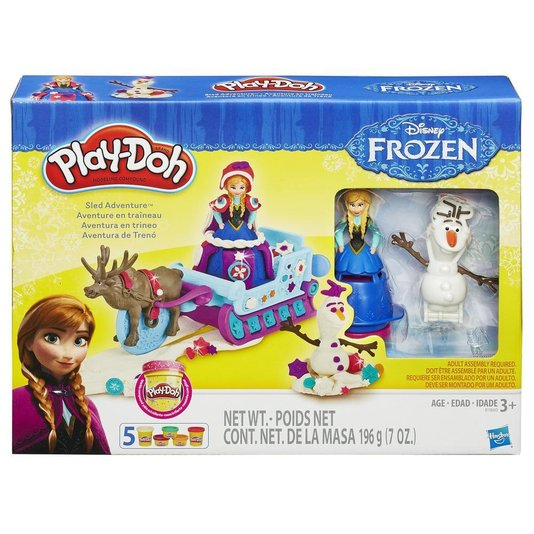 Conjunto Play-Doh Trenó Frozen Hasbro