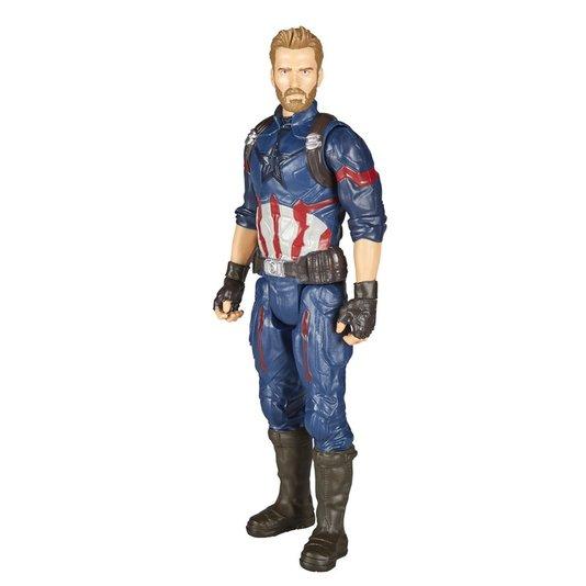 Boneco Avengers Guerra Infinita Capitão América Hasbro