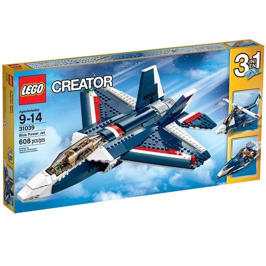Creator Avião a Jato Azul Lego