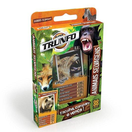 Super Trunfo Animais Selvagens Grow