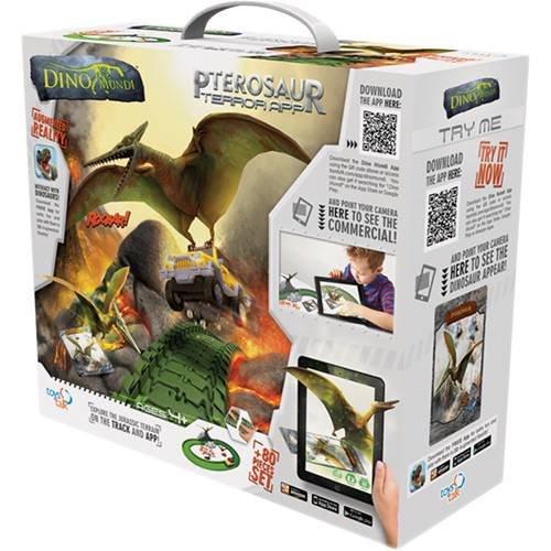 Dino Mundi Ataque Pterossauro 80 Peças Barão Toys