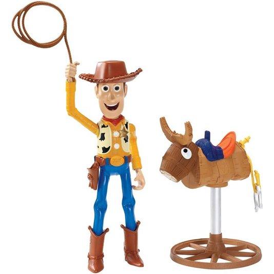 Boneco Cowboy Woody Toy Story Mattel