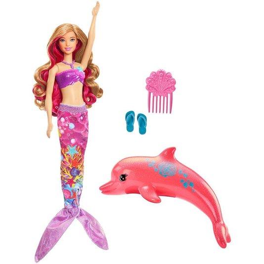 Boneca Barbie E Os Golfinhos Mágicos Sereia Mattel