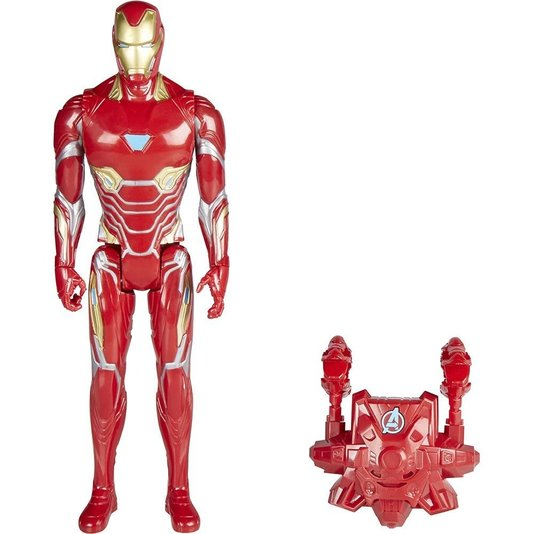 Boneco Avengers Power Pack Homem de Ferro Guerra Infinita Hasbro