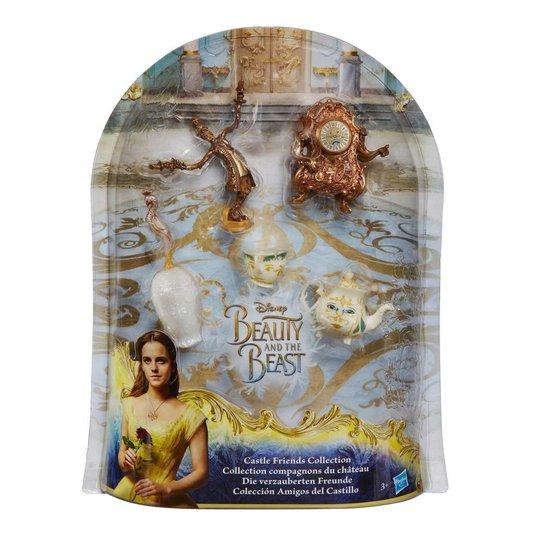 Conjunto a Bela e a Fera Amigos do Castelo Disney Hasbro