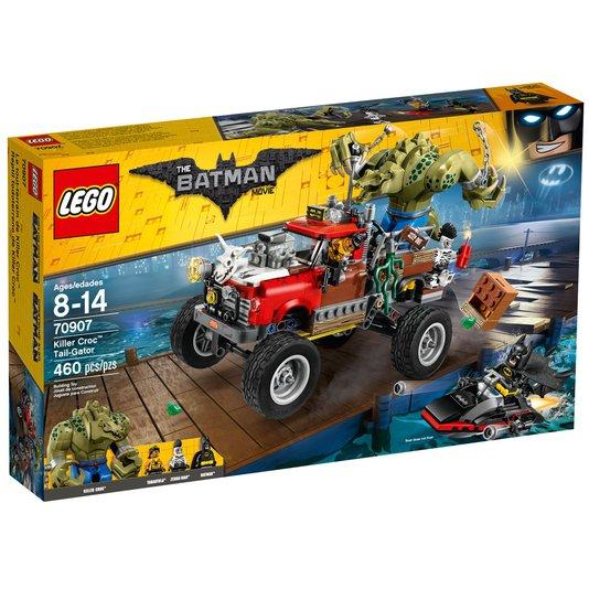 Batman Movie O Carro de Reboque do Crocodilo Lego