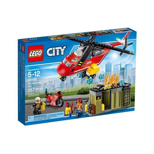 Corpo De Intervenção Dos Bombeiros Lego