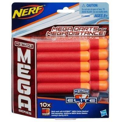 Refil Nerf N-Strike Mega 10 Dardos Hasbro