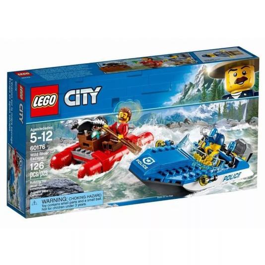 Fuga no Rio Furioso Lego