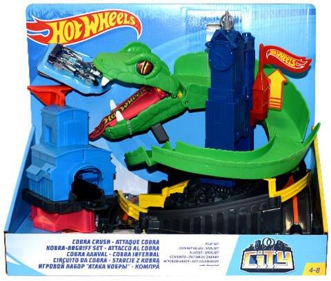Hot Wheels Conjunto Ataque de Cobra Mattel