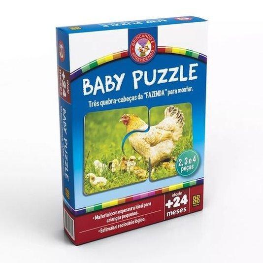 Jogo Baby Puzzle Grow