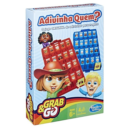 Jogo Grab e Go Adivinha Quem? Hasbro