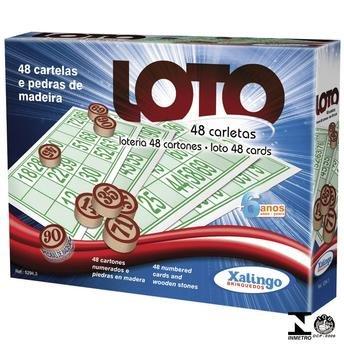 Jogo Loto 48 Cartões Xalingo