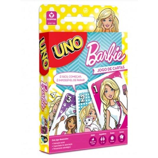 Jogo Uno Barbie Copag