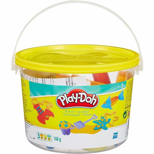 Kit Play-Doh Mini Balde Praia Hasbro
