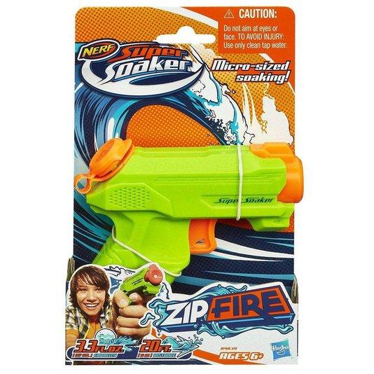 Lançador Nerf de Água Super Soaker Zipfire Hasbro