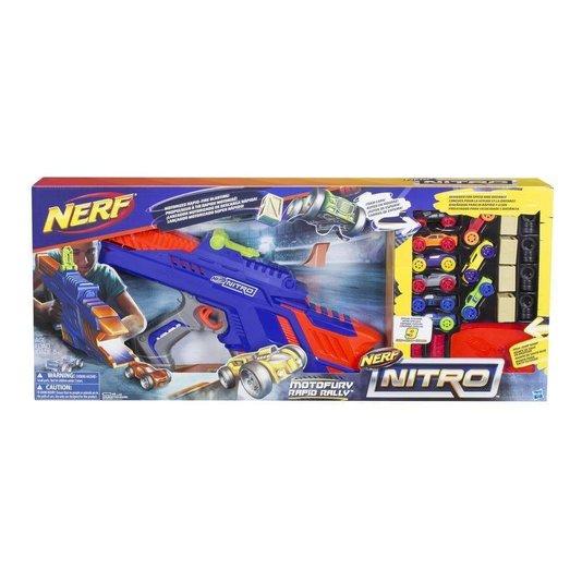 Lançador Nerf Nitro Motofury Rapid Rally Hasbro