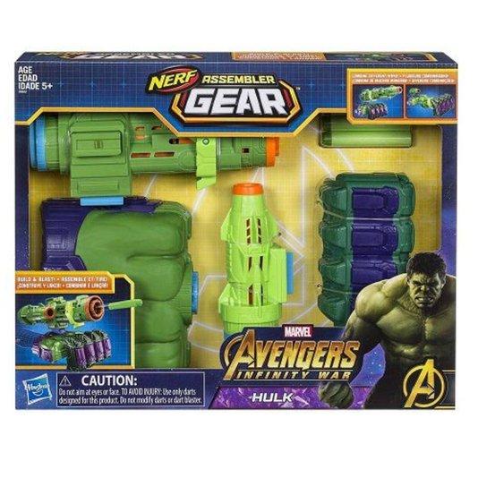Lançador Nerf Os Vingadores Guerra Infinita Hulk Hasbro