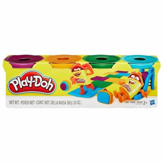 Massa de Modelar Play-Doh com 4 Potes Hasbro