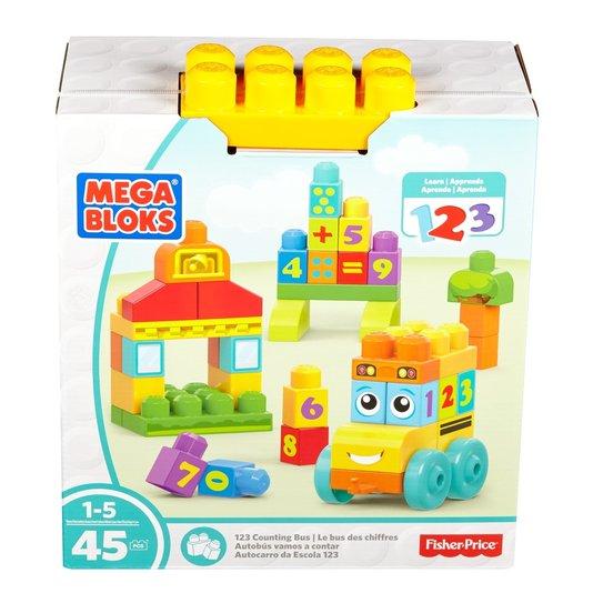 Mega Bloks Ônibus Escolar 123 Fisher-Price