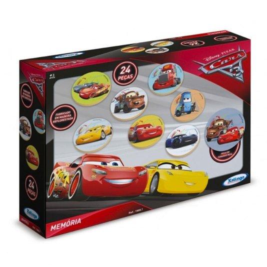 Memória Carros 3 Disney Xalingo